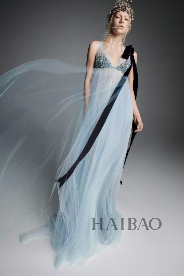 纽约婚纱时装周 Vera Wang 2019秋季婚纱系列